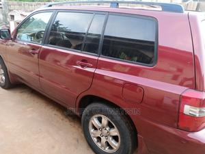 Toyota Highlander 2004 Limited V6 FWD Red | Cars for sale in Lagos State, Badagry