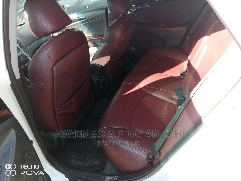 Hyundai Sonata 2011 White | Cars for sale in Amuwo-Odofin, Lagos State, Nigeria