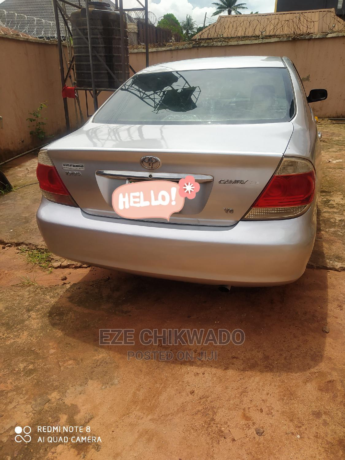 Toyota Camry 2005 Silver   Cars for sale in Awka, Anambra State, Nigeria