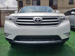 Toyota Highlander 2013 Limited 3.5L 2WD White   Cars for sale in Lagos State, Ikeja