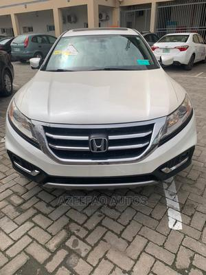 Honda Accord CrossTour 2013 EX-L W/Navigation White | Cars for sale in Lagos State, Surulere