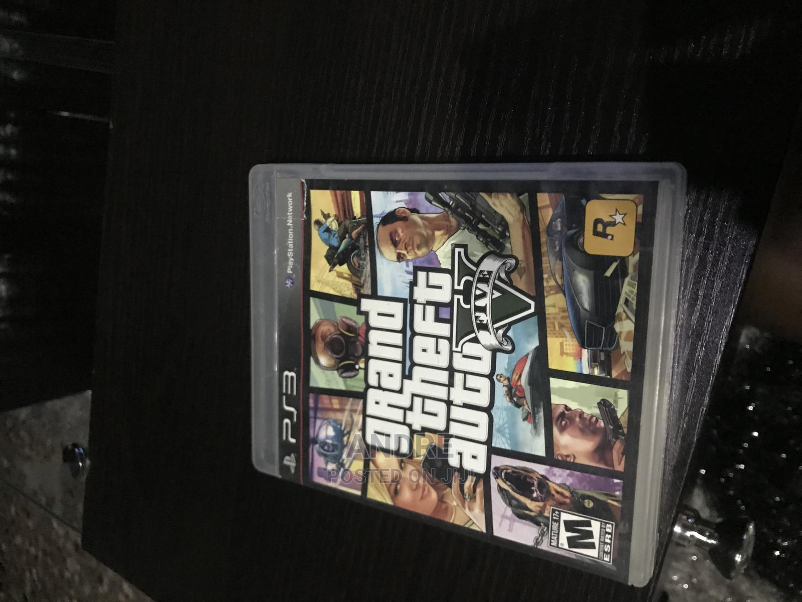 GTA v PS3 Game and Nba2k15   Video Games for sale in Calabar, Cross River State, Nigeria