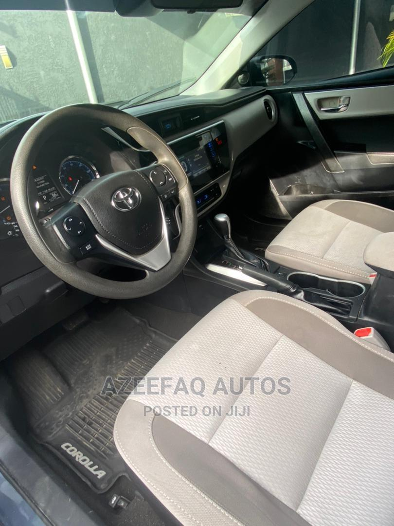 Toyota Corolla 2018 LE (1.8L 4cyl 2A) Blue | Cars for sale in Surulere, Lagos State, Nigeria