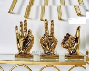 Gold Thumps Up Figurine   Home Accessories for sale in Lagos State, Ogba