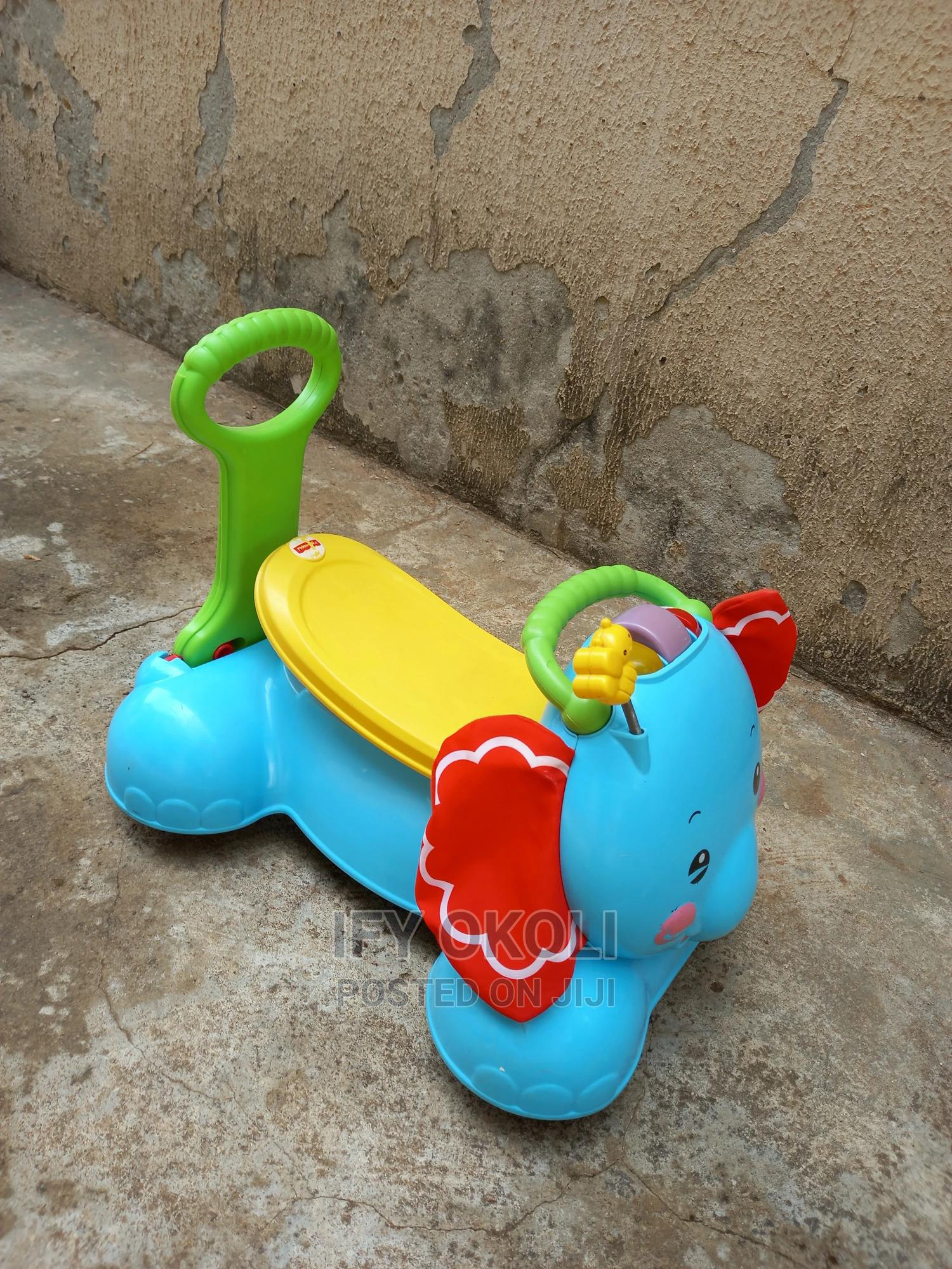Fisher-Price Ride on Elephant   Toys for sale in Gwarinpa, Abuja (FCT) State, Nigeria