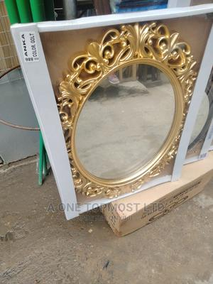 Gold Royal Mirror   Home Accessories for sale in Lagos State, Orile