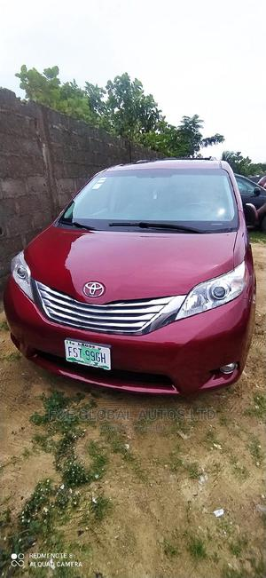 Toyota Sienna 2012 XLE 7 Passenger Mobility Red | Cars for sale in Lagos State, Amuwo-Odofin