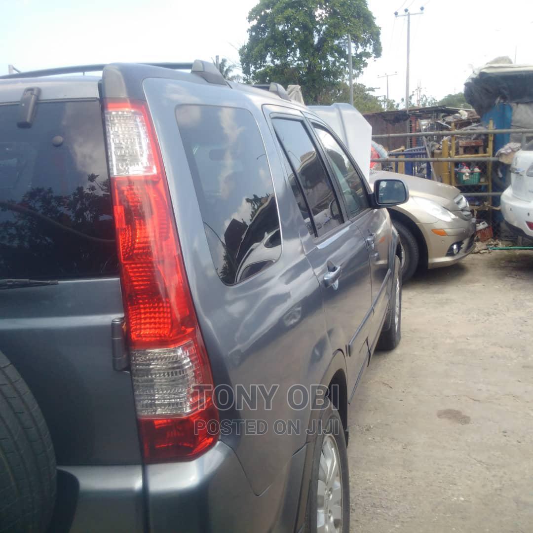 Honda CR-V 2005 2.0i ES Automatic Blue   Cars for sale in Amuwo-Odofin, Lagos State, Nigeria