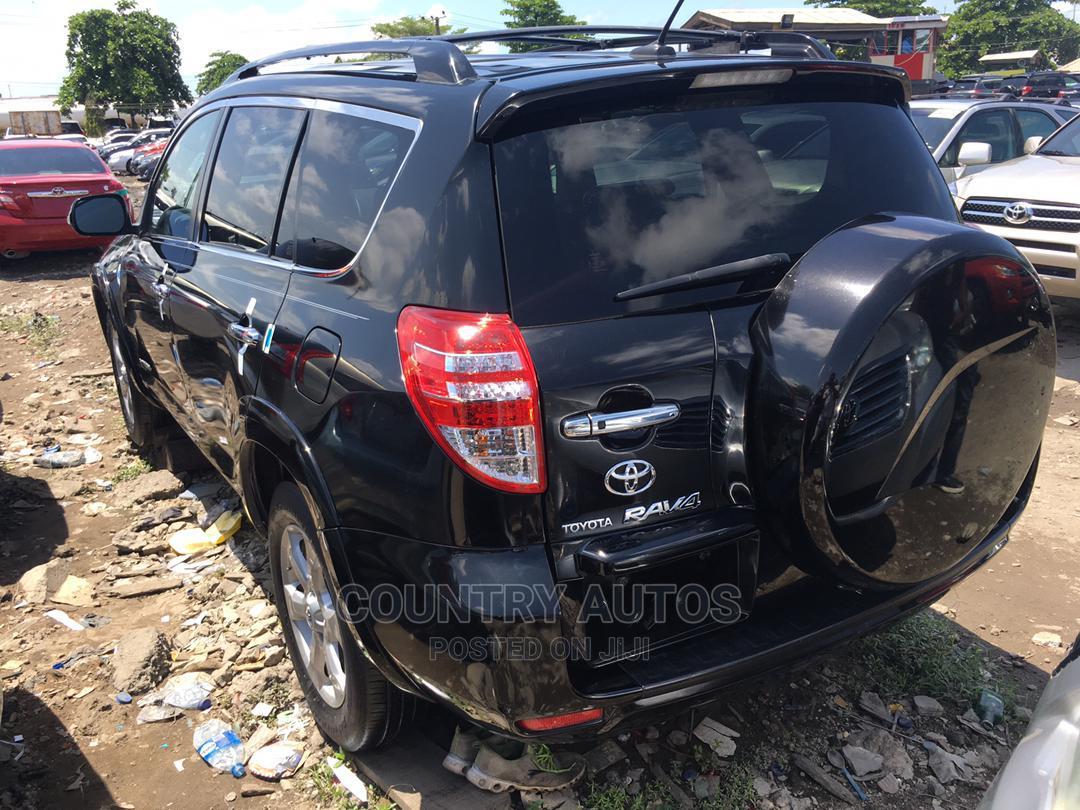 Toyota RAV4 2010 3.5 Limited 4x4 Black   Cars for sale in Apapa, Lagos State, Nigeria
