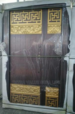 Brown Quality Copper Door 4ft   Doors for sale in Lagos State, Amuwo-Odofin