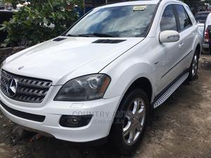 Mercedes-Benz M Class 2008 ML 350 4Matic White   Cars for sale in Lagos State, Apapa