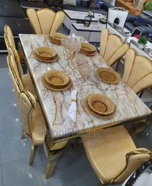 Marble Dining Set | Furniture for sale in Lagos State, Ojo