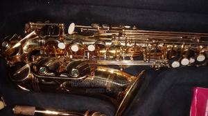 Quality Gold Auto Saxophone | Musical Instruments & Gear for sale in Lagos State, Ojo