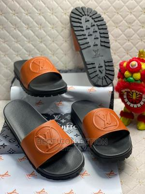 Designer Louise Vuitton Slippers   Shoes for sale in Lagos State, Lagos Island (Eko)
