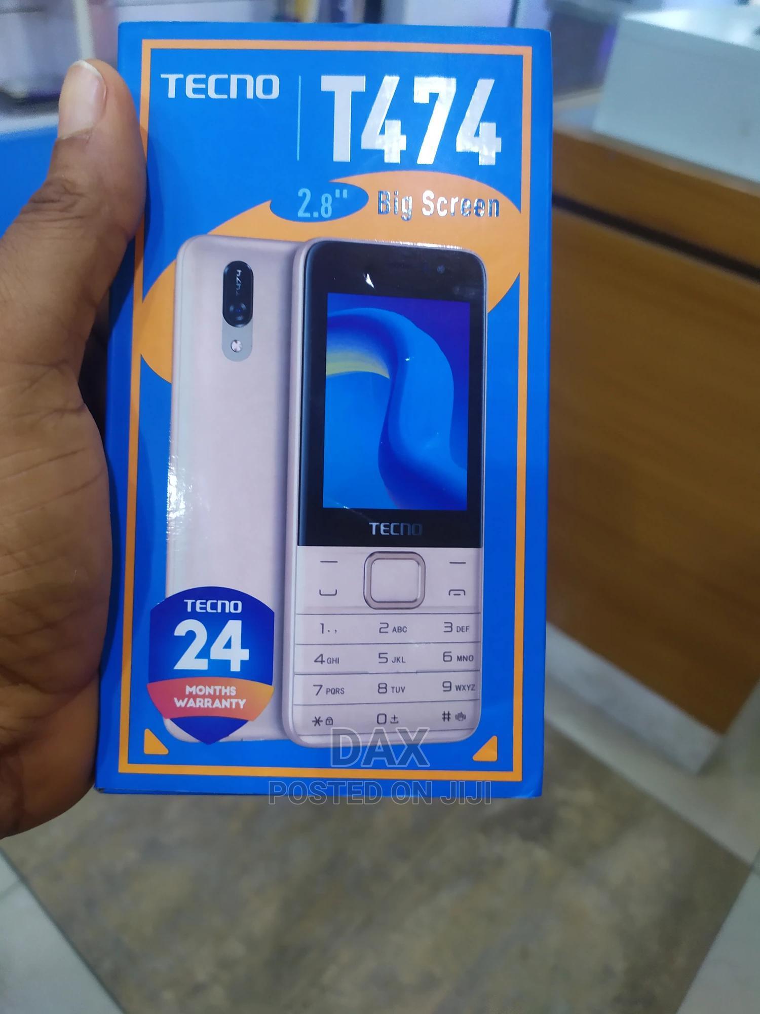 New Tecno T474 Gold   Mobile Phones for sale in Victoria Island, Lagos State, Nigeria