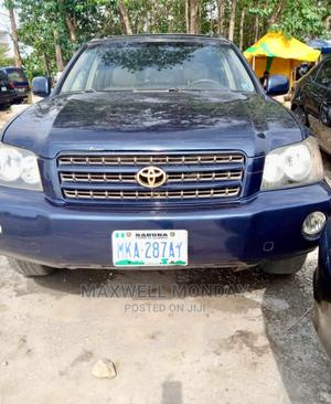 Toyota Highlander 2004 Blue | Cars for sale in Abuja (FCT) State, Gudu
