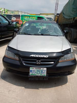 Honda Accord 2001 Coupe Silver   Cars for sale in Lagos State, Alimosho