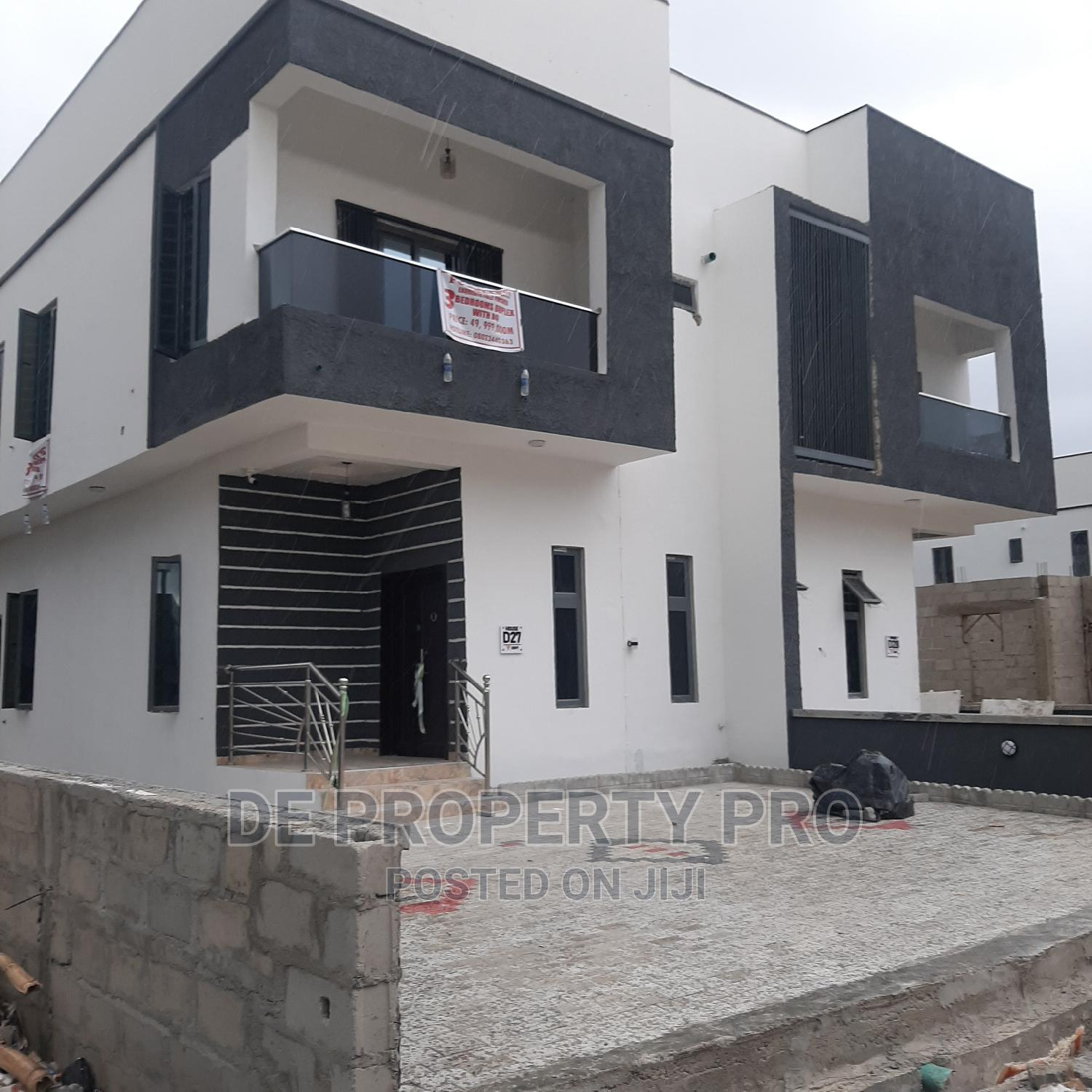 3 Bedroom Semi Detached Duplex With Bq | Houses & Apartments For Sale for sale in Lekki, Lagos State, Nigeria