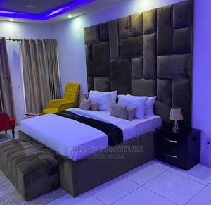 6/6 Bedframe,2side Drawers and Ottoman | Furniture for sale in Lagos State, Lekki
