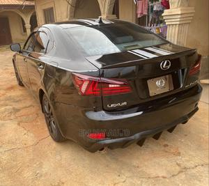 Lexus IS 2010 250 AWD Automatic Black | Cars for sale in Ondo State, Akure