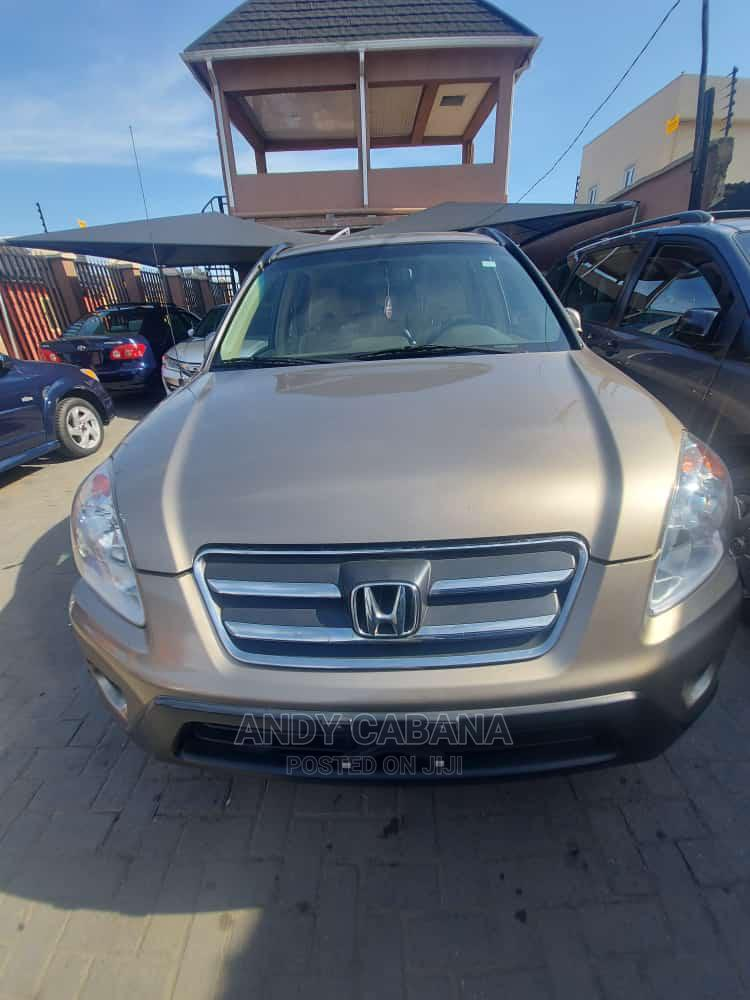 Archive: Honda CR-V 2005 Gold
