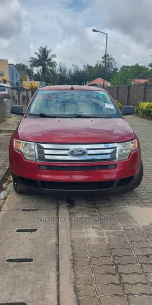 Ford Edge 2008 SE 4dr AWD (3.5L 6cyl 6A) Red   Cars for sale in Lagos State, Ajah