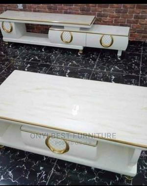 Set of Center Table and TV Stand   Furniture for sale in Lagos State, Ojo