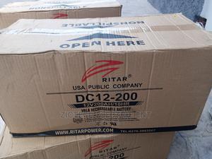 200ah 12v RITAR BATTERY | Solar Energy for sale in Oyo State, Ibadan