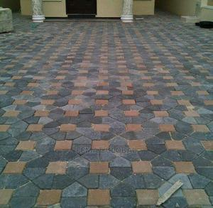 Floor Stamping/Interlock Concrete | Building & Trades Services for sale in Lagos State, Epe