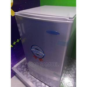 Haier Thermocool HR-134 Refrigerator (Silver | Kitchen Appliances for sale in Bayelsa State, Yenagoa