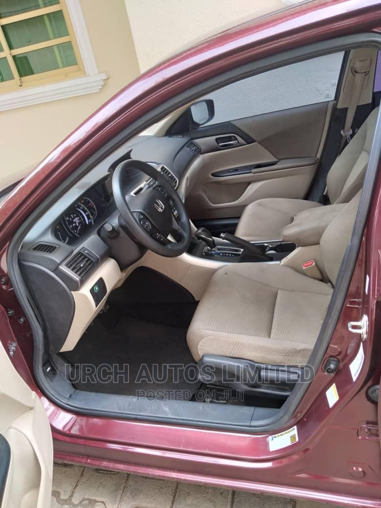 Honda Accord 2015 Red   Cars for sale in Lokogoma, Abuja (FCT) State, Nigeria