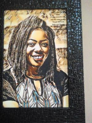 Oiled Portrait Painting | Arts & Crafts for sale in Abuja (FCT) State, Lugbe District