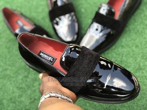 Black Patient Loafers With Velvet   Shoes for sale in Lagos State, Mushin