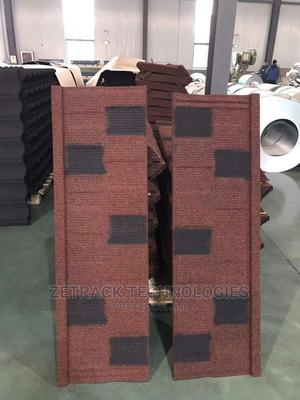 Wine Colour With Black Patch Original Newzealand Shingle | Building Materials for sale in Edo State, Ekpoma