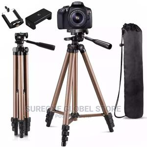 Tripod With Remote Control Mount Holder | Accessories & Supplies for Electronics for sale in Lagos State, Victoria Island
