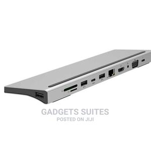 Tobo USB C Hub, 11 in 1 Type C Hub Dongle to Ethernet, 4K HD   Computer Accessories  for sale in Lagos State, Ikeja