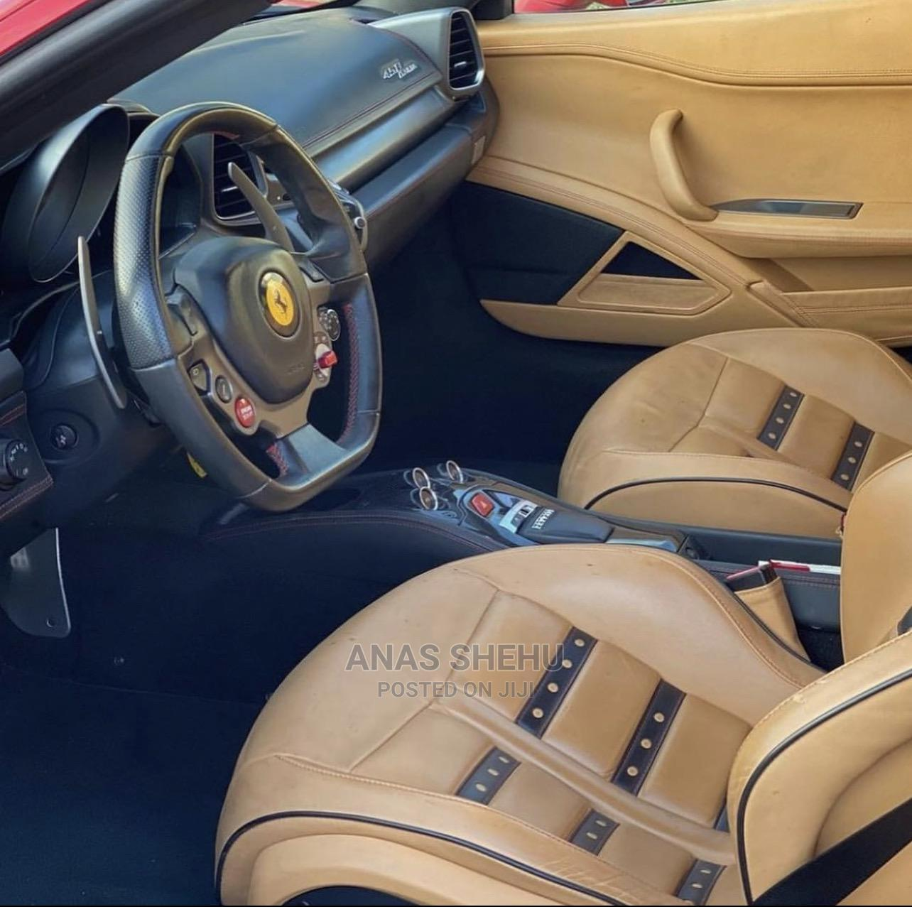 Ferrari 458 Spider 2013 Base 2dr Red | Cars for sale in Asokoro, Abuja (FCT) State, Nigeria