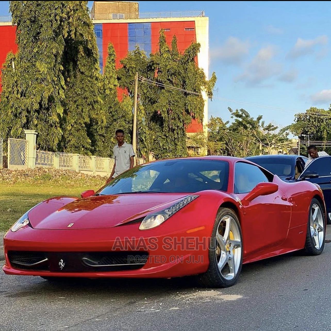 Ferrari 458 Spider 2013 Base 2dr Red
