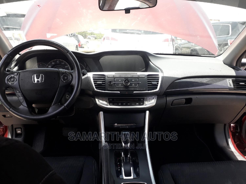 Honda Accord 2014 Red   Cars for sale in Kubwa, Abuja (FCT) State, Nigeria
