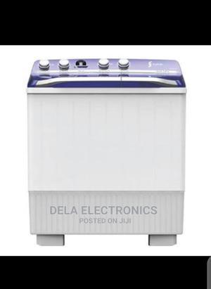 Syinix 12kg Semi Automatic Washing Machine   Home Appliances for sale in Lagos State, Yaba