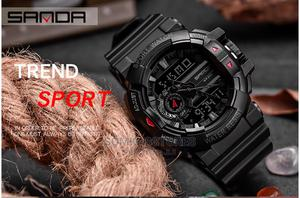Digital Sport Wristwatch - Black   Watches for sale in Lagos State, Surulere