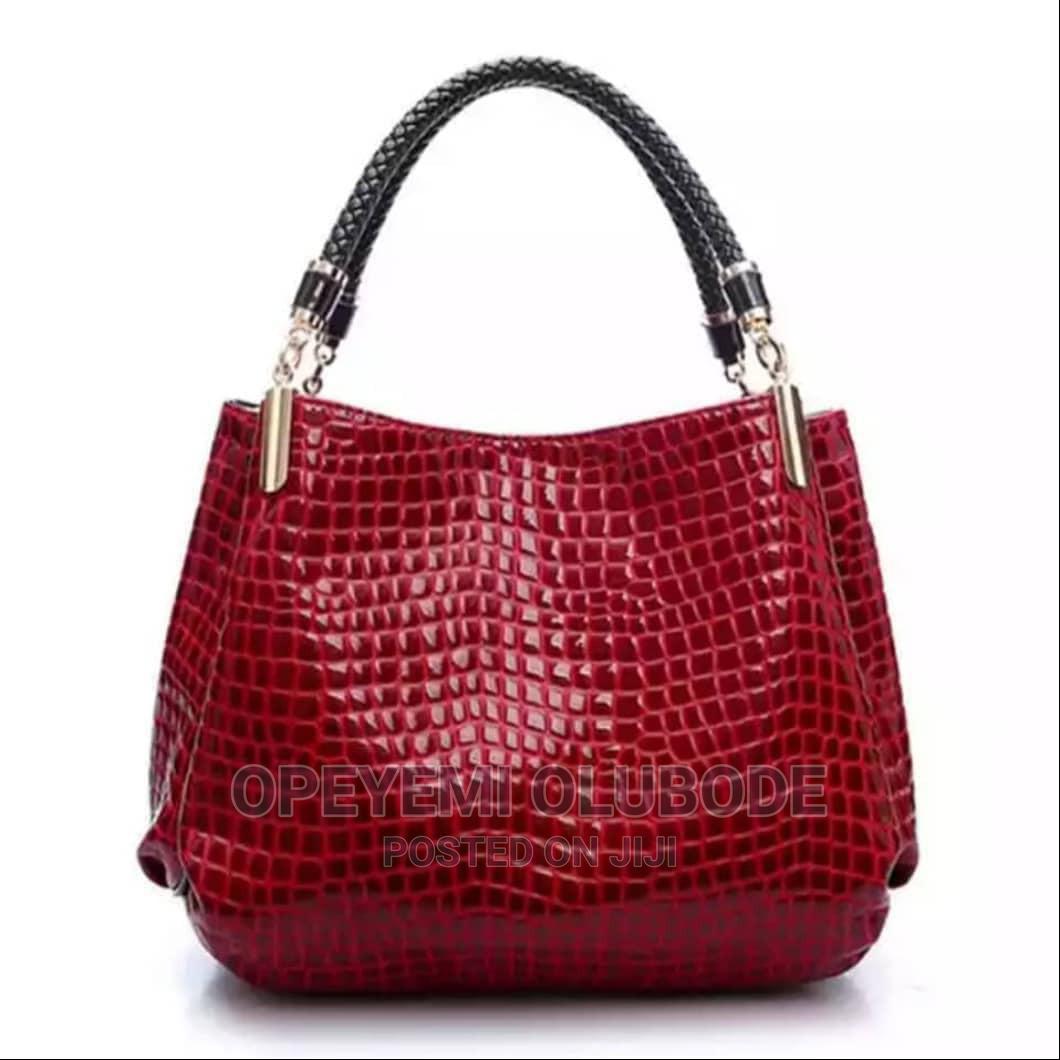Archive: Croc Skin Capacity Bag