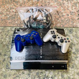 Hacked Uk Used PS3 Console With 1 Pad and 7 Games Installed | Video Game Consoles for sale in Oyo State, Akinyele