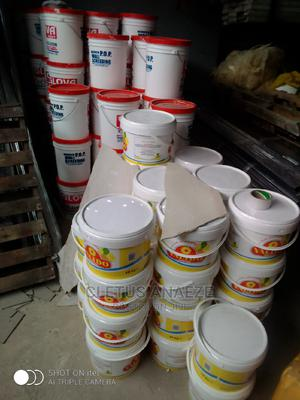 Glova Paint, White Power for Screeding, Top Bound Etc.   Building Materials for sale in Lagos State, Yaba