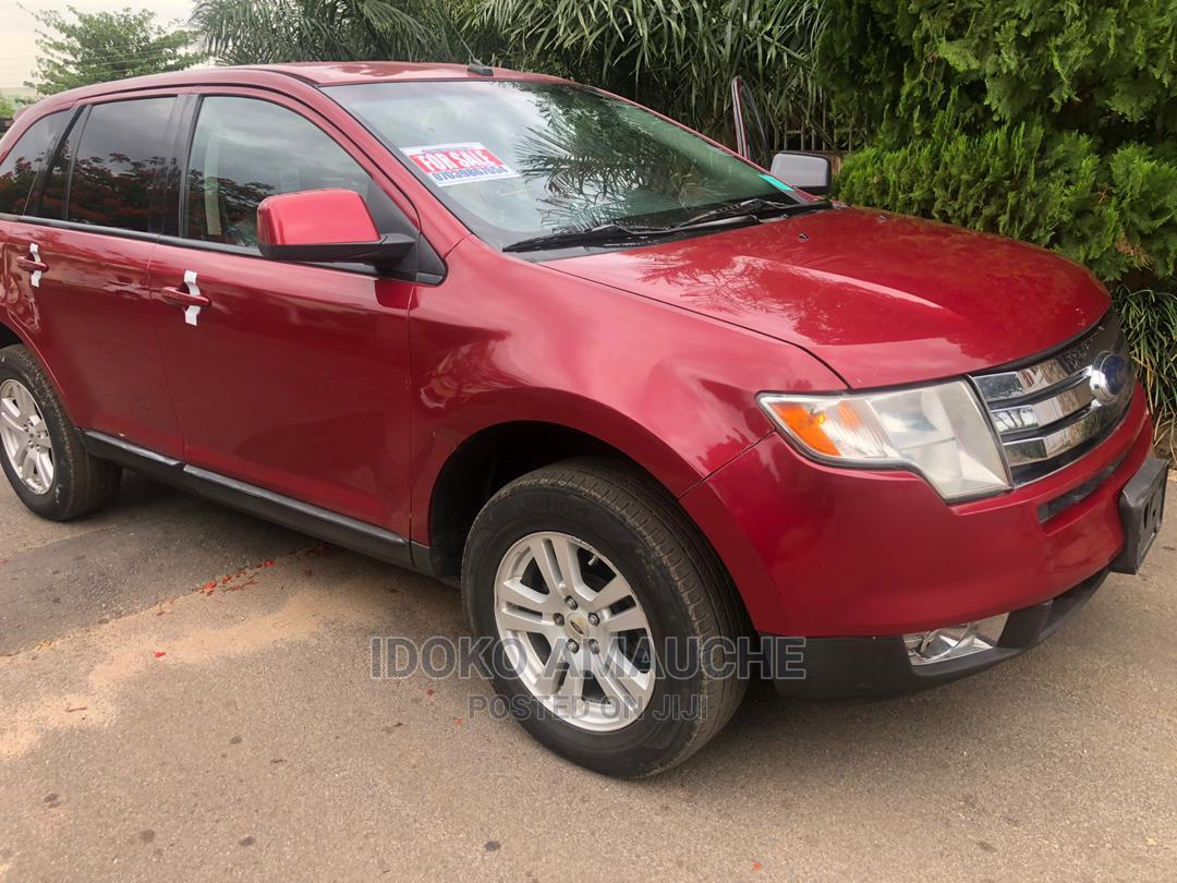 Ford Edge 2008 Red   Cars for sale in Kubwa, Abuja (FCT) State, Nigeria