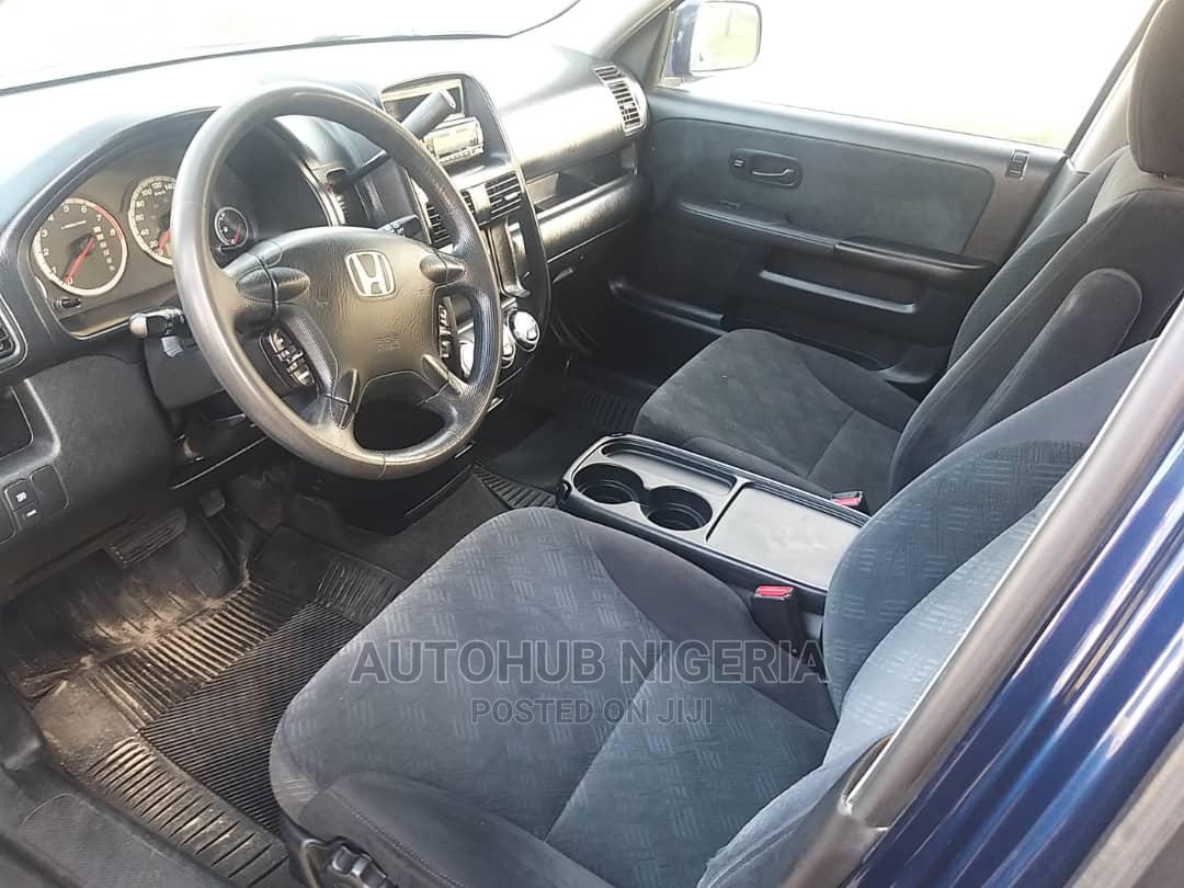 Honda CR-V 2005 2.0i ES Automatic Blue | Cars for sale in Amuwo-Odofin, Lagos State, Nigeria