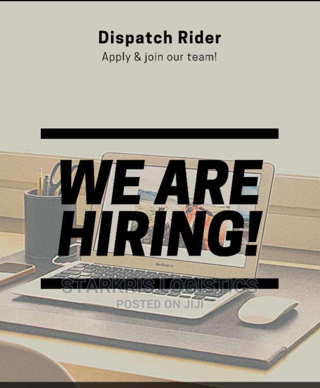 Archive: Dispatch Riders wanted