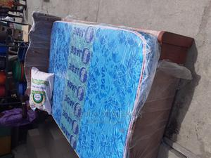 4.5 by 6 Bed Frame With Mattress   Furniture for sale in Lagos State, Lagos Island (Eko)