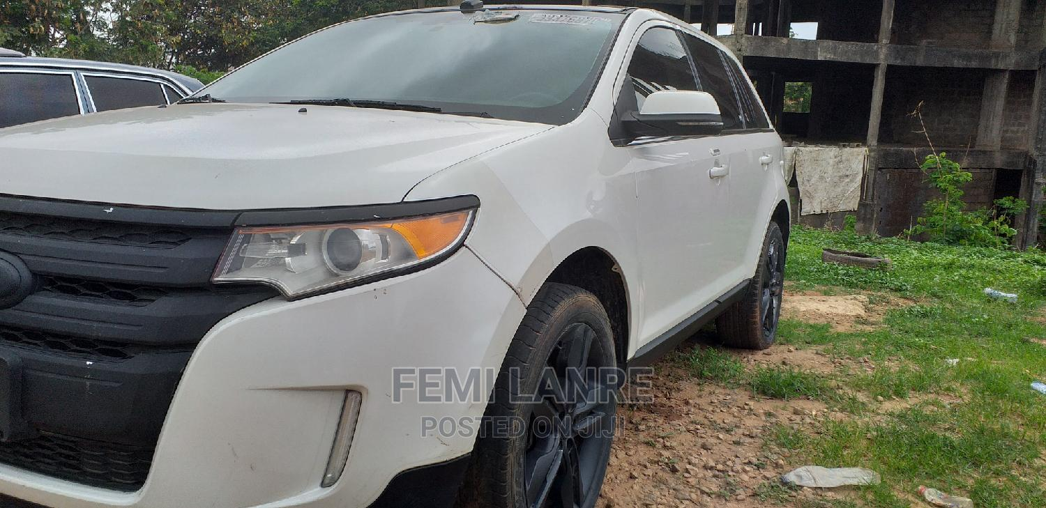 Ford Edge 2012 White   Cars for sale in Central Business Dis, Abuja (FCT) State, Nigeria