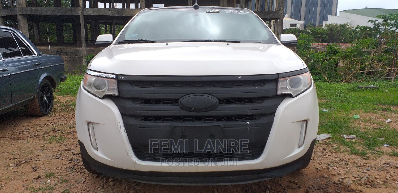 Ford Edge 2012 White